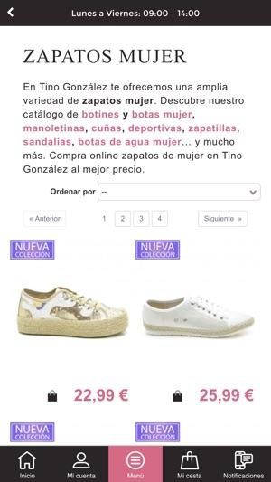 elegir despacho correr zapatos Estados Unidos Tino González – shop & shoes en App Store