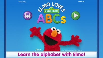 Screenshot for Elmo Loves ABCs in Czech Republic App Store