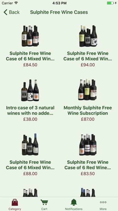Organic Wine Club: handpicked organic wine screenshot one