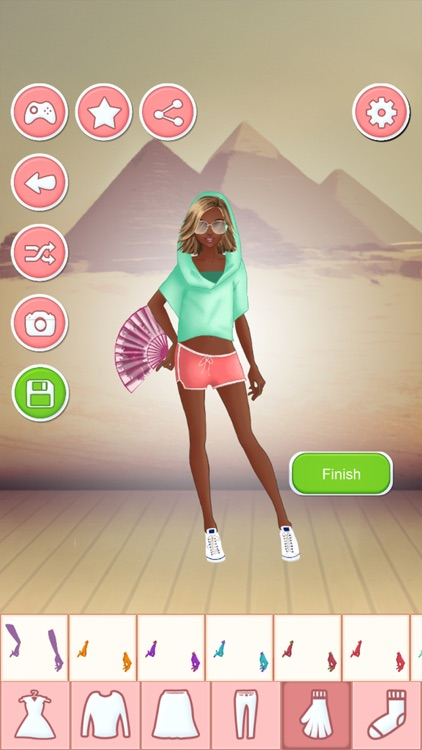 Travel Dress Up Games - Fashion And Makeover Game screenshot-3
