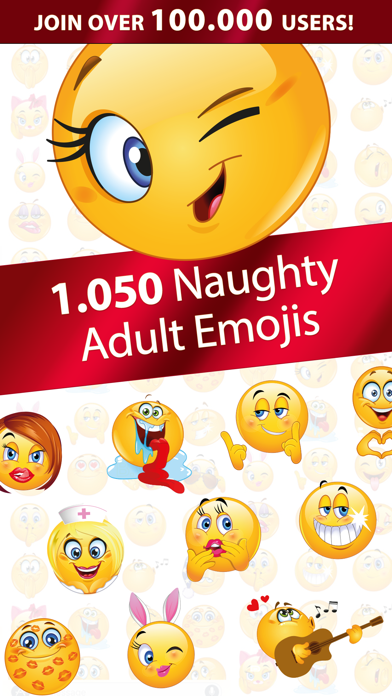 Flirty Dirty Emoji - Adult Emoticons for Couples by EDB