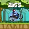 忍者摩托车ABC的学习赛跑者