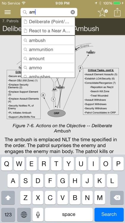 Army Ranger Handbook screenshot-3