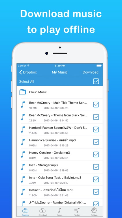 Cloud Music Pro - Offline Songs & Music Player screenshot-3