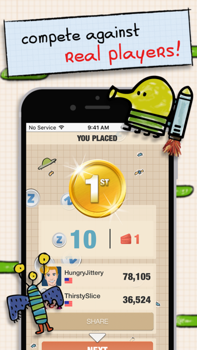 Doodle Jump VS screenshot 2