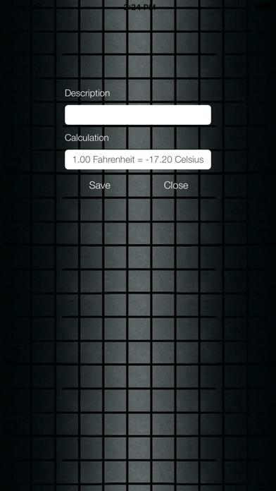 Fahrenheit Celsius Screenshot