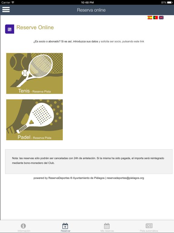 Piélagos deportes screenshot 7