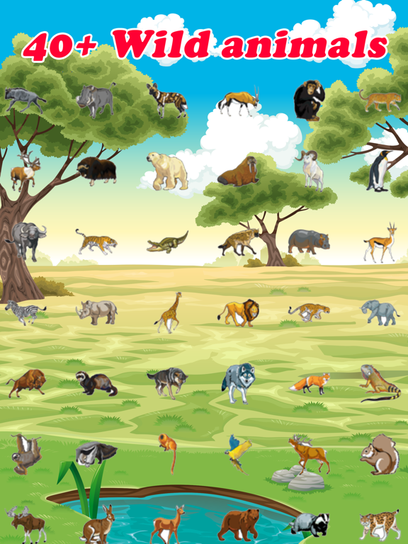 Wild Animal Quiz Games for Kids | App Price Drops