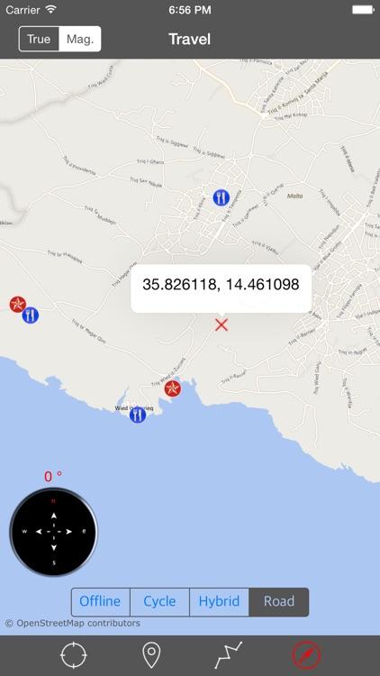 MALTA – GPS Travel Map Offline Navigator screenshot-3