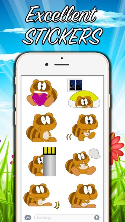 Funny Beaver Stickers! screenshot-1