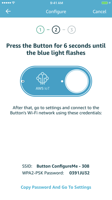 AWS IoT Button Wi-Fi screenshot 3