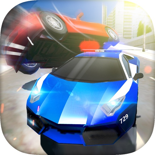 Police Car Driving 3D Game