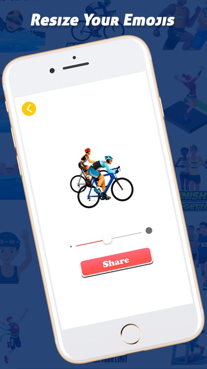 TriathlonMoji - Triathlon Emoji Keyboard screenshot-3