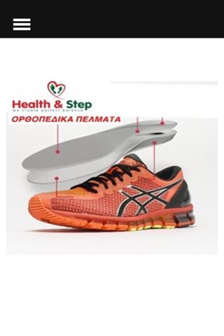 HealthandStep - náhled