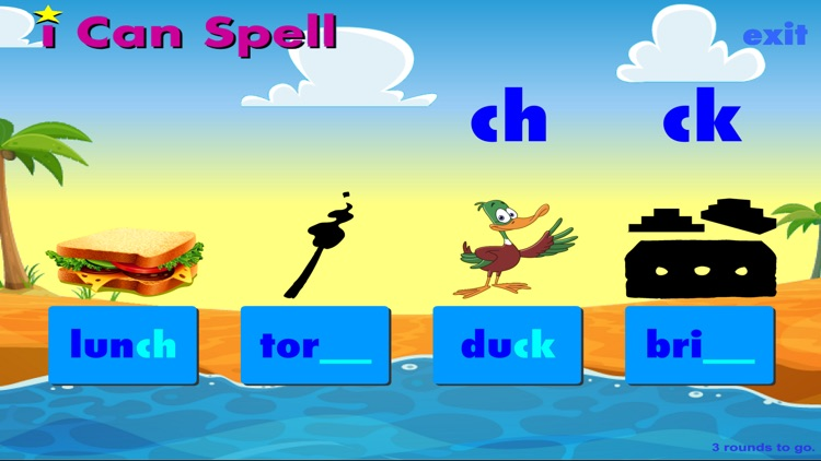 i Can Spell with Phonics LITE screenshot-4