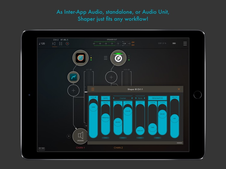 Shaper : smart audio destroyer screenshot-3