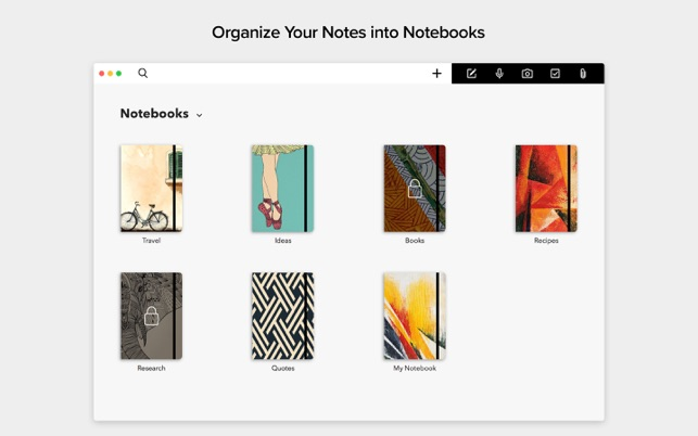Notebook - Take Notes, Sync on the Mac App Store