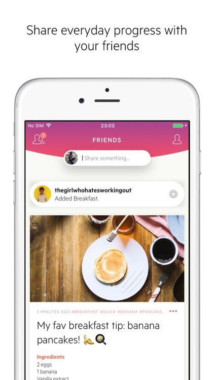 Lifesum – Inspiring healthy lifestyle app screenshot-3