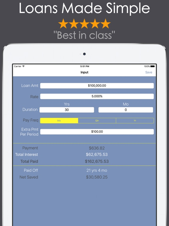 Loan Calculator - Mortgage Car-ipad-0