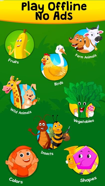 KidloLand Nursery Rhymes & Preschool Toddler Games screenshot-3