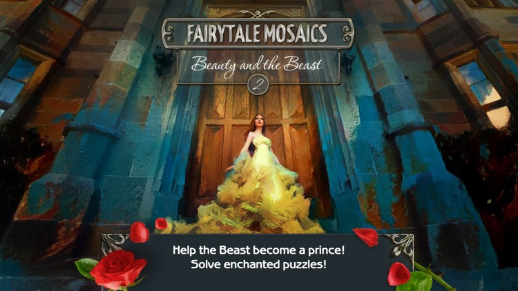 Fairytale Mosaics. Beauty and the Beast 2