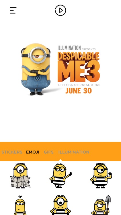 Despicable Me 3 Stickers App screenshot-2