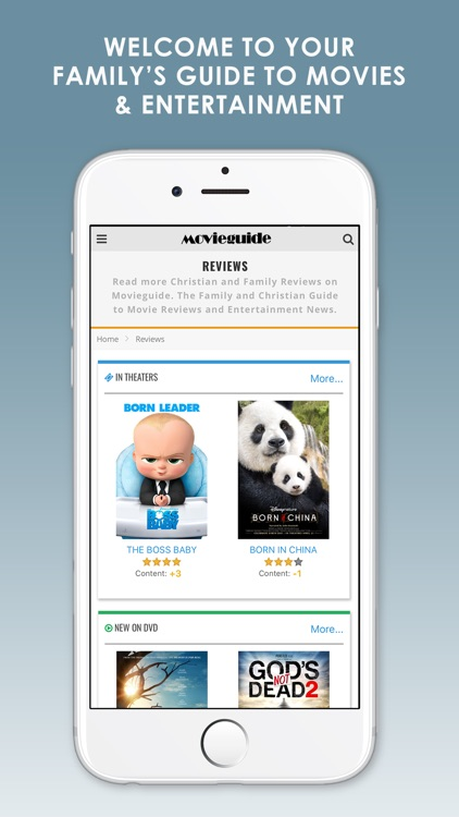 Movieguide Lite- Family Guide to Movies