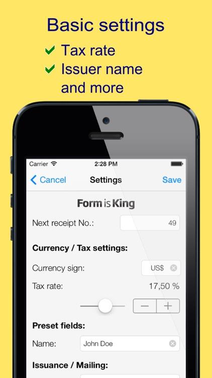 mReceipt Lite - The Receipt App screenshot-4
