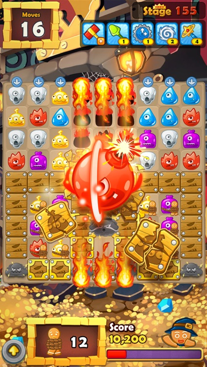 Monster Busters: Match 3 Puzzle