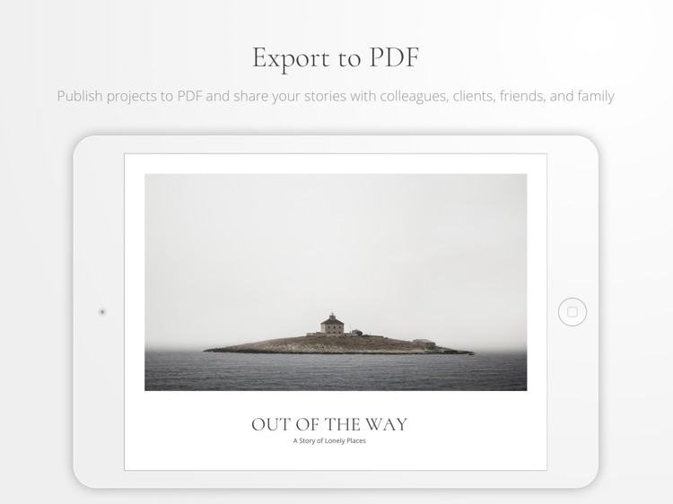 Portafolio - Design a Portfolio & Photo Albums screenshot-3