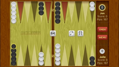 Backgammon Pro screenshot1