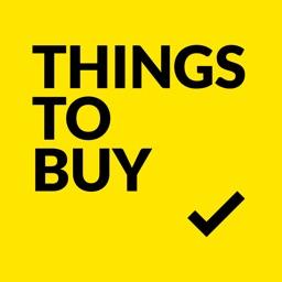 ThingsToBuy - A Simple Grocery List