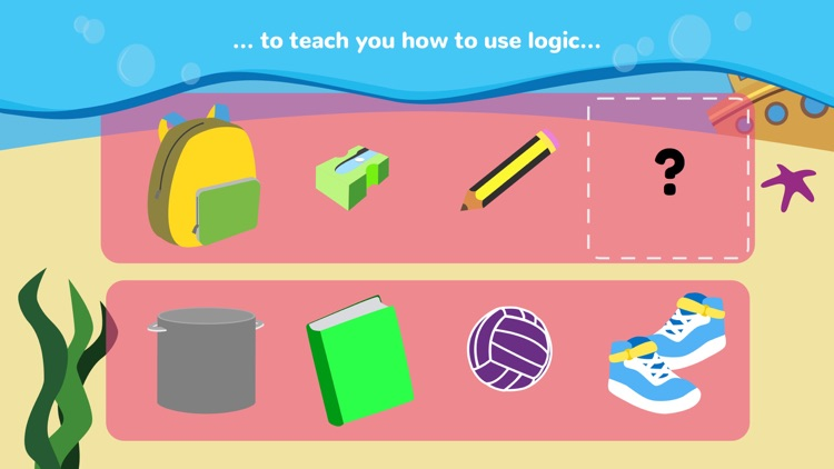 Math Tales Ocean: stories and games for kids screenshot-2