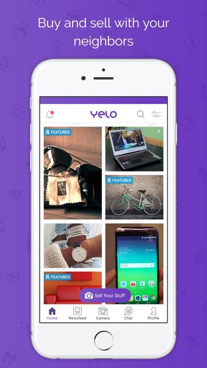 Yelo-Buy & Sell Marketplace