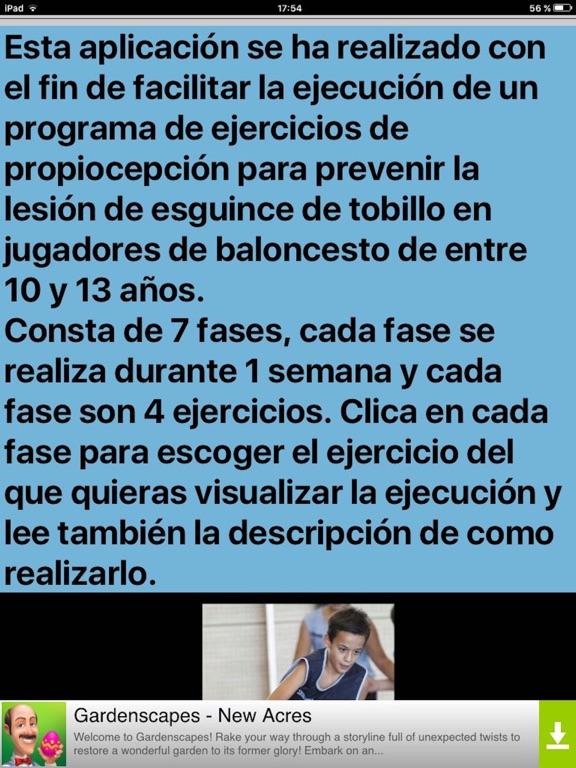 Prevenir Esguince Tobillo screenshot 6