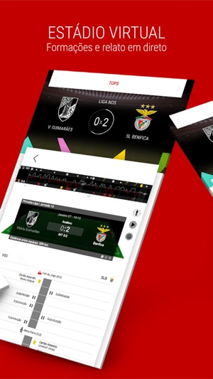 Benfica Official App Screenshot