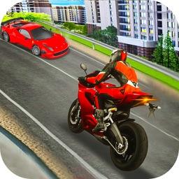 Speed Traffic bike Racer