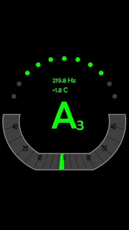 atHandTuner Chromatic Tuner screenshot-3
