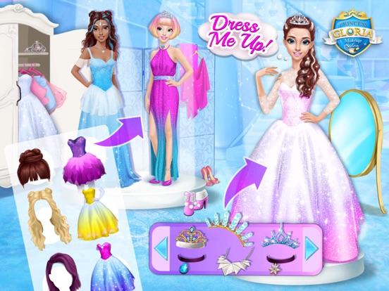 Princess Gloria Makeup Salon - No Ads screenshot 10
