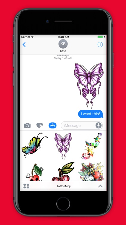 TattooMoji - 100 Best Tattoo Stickers And Emojis screenshot-4