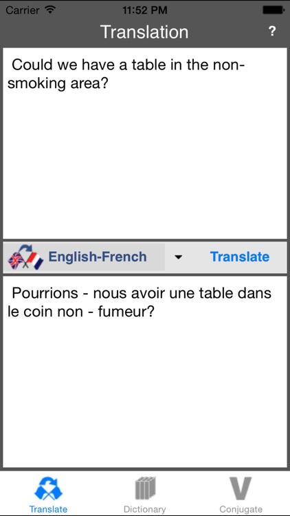 French-English Translator (Offline) screenshot-3