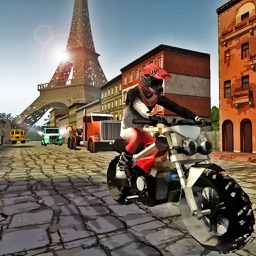 Bike Highway Traffic Rider Game