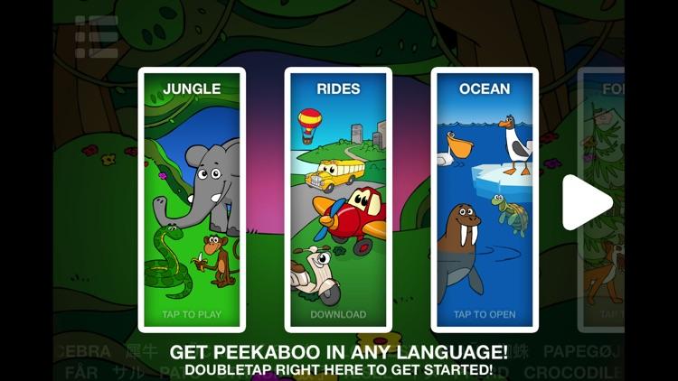 Peekaboo HD Jungle screenshot-3
