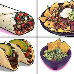 Awesome Mexican Food Sticker Pack