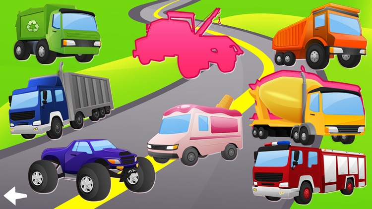 Trucks and Diggers Puzzles Games For Little Boys screenshot-3