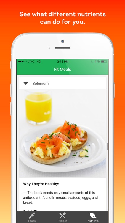 Fit Meals - healthy recipes and diet ingredients screenshot-3