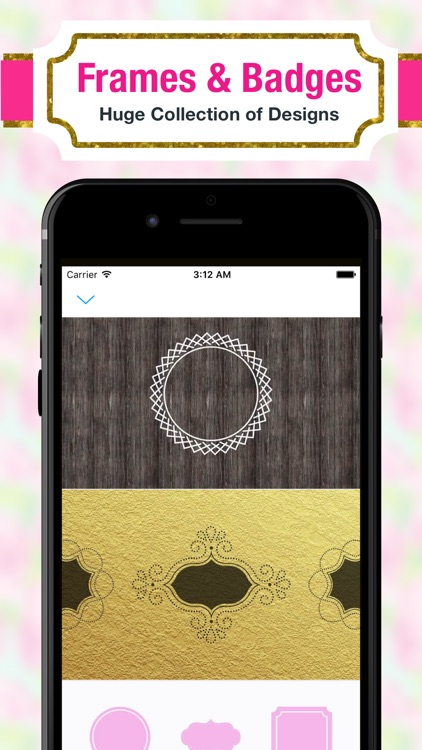 Monogram Luxe Wallpaper DIY Backgrounds screenshot-3