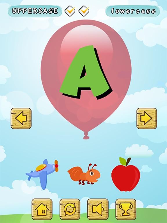 Screenshot 1 For First A B C Alphabet Phonics Games