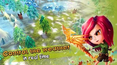 Chibi Survivor Weather Lord - Survival Screenshot on iOS