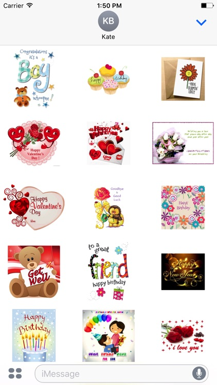 Lovely Greetings Stickers